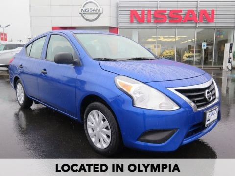 Pre-Owned 2015 Nissan Versa 1.6 S Plus FWD 4D Sedan